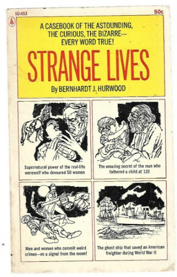 Image for Strange lives (Mass Market Paperback)