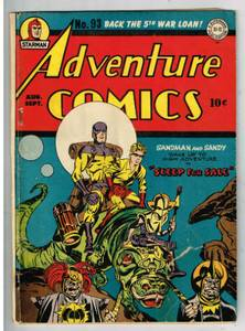 Image for Adventure comics #93