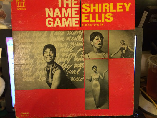 Image for Shirley Ellis (The Nitty Gritty Girl)* ?– The Name Game on VINYL,LP,WAX
