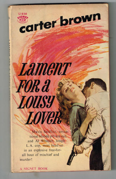 Image for Lament for a lousy lover