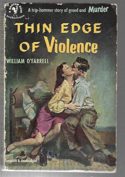 Image for Thin edge of violence
