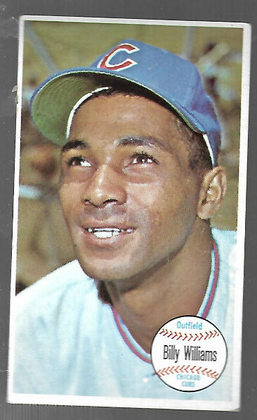 Image for 1964 Topps Giants Billy Williams #52 (Hall of Fame)