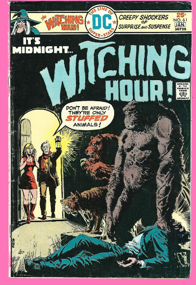Image for the Witching hour #61,It's midnight......