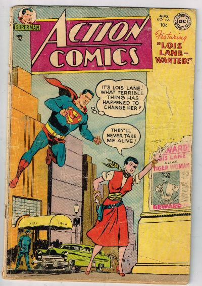 Image for ACTION COMICS #195    1954- | VOLUME 1 | DC