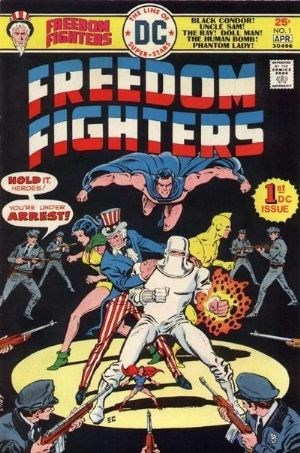 Image for FREEDOM FIGHTERS #1   1976-1978 |  VOLUME 1 |  DC