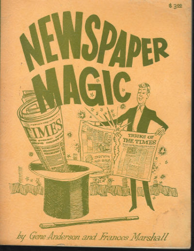 Image for Newspaper Magic