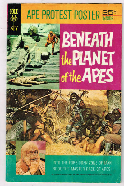Image for BENEATH THE PLANET OF THE APES (MOVIE COMICS) #1   1970 |  ONE-SHOT |  WESTERN (GOLD KEY/WHITMAN)