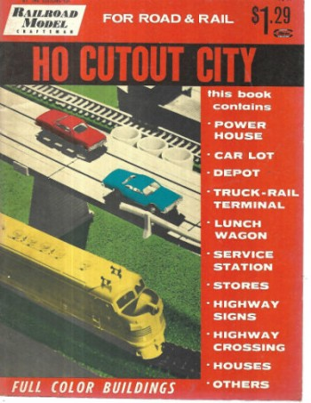 Image for HO Scale Cutouts: A Complete City for Your HO Gauge Railroad1956