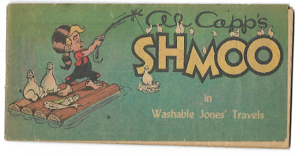 Image for RARE Al Capp's SHMOO in Washable Jones' Travels #4 (1950)