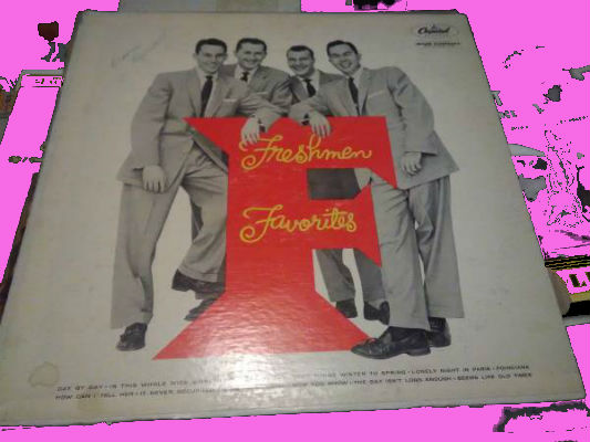 Image for The Four Freshmen ‎– Freshmen Favorites  Genre:  Jazz, Pop  Style:  Vocal  Year:  1956
