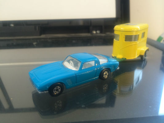 Image for Matchbox Lesney Superfast No. 14 Iso Grifo +   Matchbox Lesney No 43 PONY TRAILER WITH one pony - England