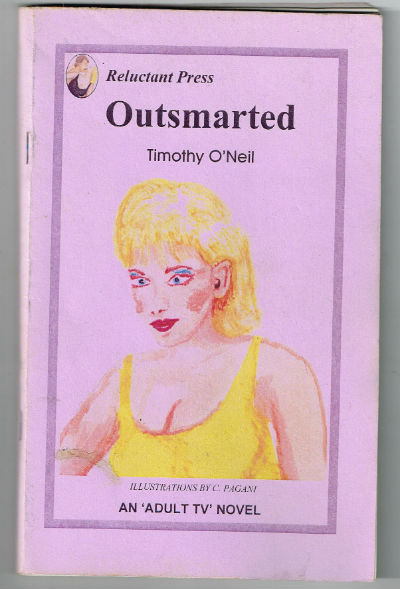 "Image for Outsmarted,""An adult TV novel"""