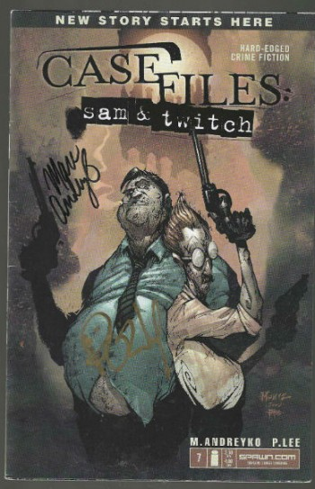 Image for Case Files #7:Sam and Twitch-signed by Marc Andreyko and P.Lee
