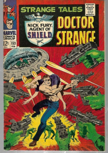Image for Strange Tales (1951-1976 1st Series) #153