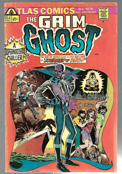Image for Grim Ghost (1975 Atlas) #2