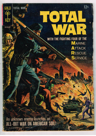 Image for TOTAL WAR (GOLD KEY) #1    1965 | VOLUME 1 | WESTERN (GOLD KEY/WHITMAN)