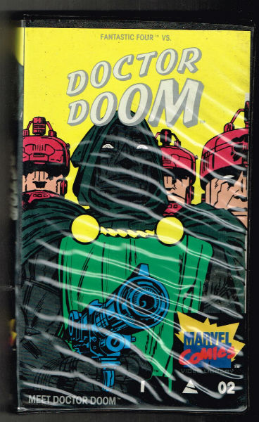"Image for Fantastic four vs. Doctor Doom on BETAMAX;includes""Meet Dr.Doom"" and""Cannon of Doom""featuring Spider-man"