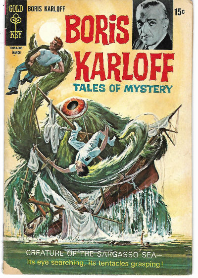 Image for BORIS KARLOFF TALES OF MYSTERY (GOLD KEY/WHITMAN) #29