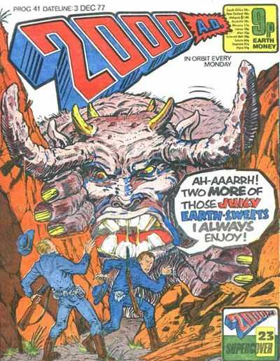 Image for 2000 AD #41 - Prog 41 released by Rebellion on December 3, 1977.Featuring Judge Dredd