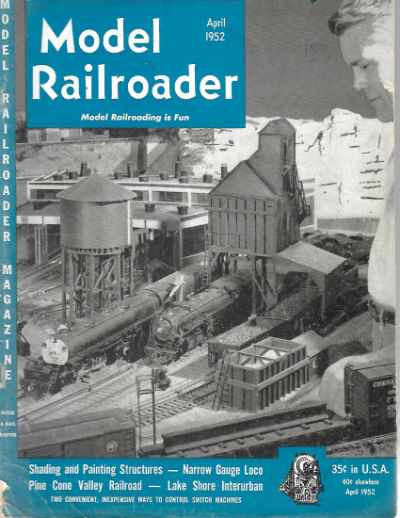 Image for Model Railroader april 1952