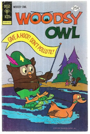 "Image for Woodsy Owl #10 ""Give a hoot,don't pollute"""