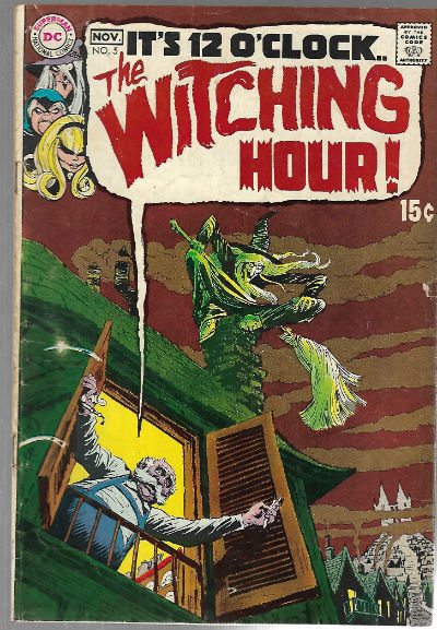 Image for Witching Hour (1969 DC) #5