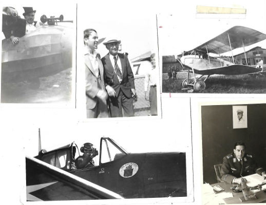 Image for Lot of 14 vintage airplane photos