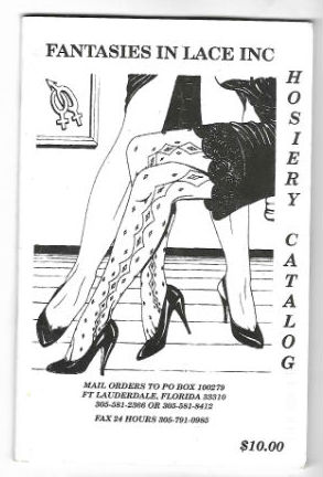 Image for Fantasies in lace inc.,Hosiery Catalog