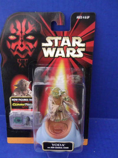 Image for Yoda with Jedi Council Chair:Star Wars collection 2