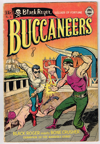 Image for BUCCANEERS (SUPER REPRINT) #12    1964 | ONE-SHOT | I. W. ENTERPRISES (SUPER)