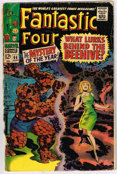 Image for FANTASTIC FOUR #66    1967| VOLUME 1 | MARVEL