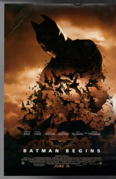 Image for Batman Begins 11x17 Movie Poster