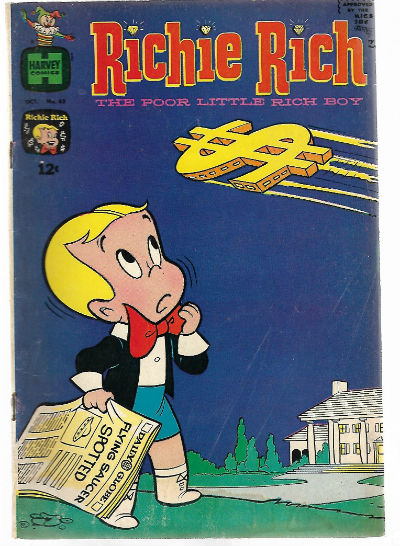 Image for Have one to sell? Sell now  RICHIE RICH (1960-1991) 62 VG Oct. 1967