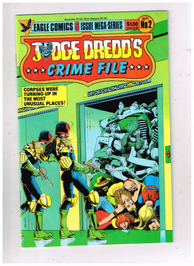 Image for Judge Dredd's Crime File » 6 issues    Volume » Published by Eagle Comics. Started in 1985.