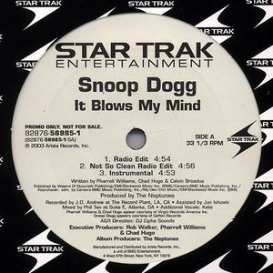 Image for Snoop Dogg / Rosco P. Coldchain ‎– It Blows My Mind / Hot  Label:  Star Trak Entertainment ‎– 82876-56985-1