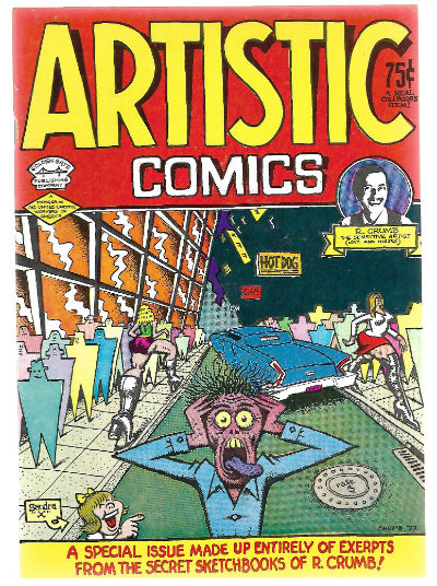 Image for ARTISTIC COMICS #1    1995 | VOLUME 1 | KITCHEN SINK