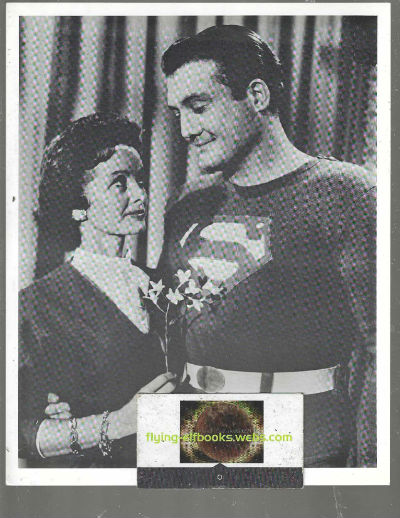 "Image for Superman (George Reeves)  with Lois Lane (NOEL NEILL) photo 8"" X 10"" B&W"