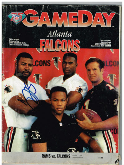 Image for Gameday:Atlanta Falcons  signed by Chris Doleman