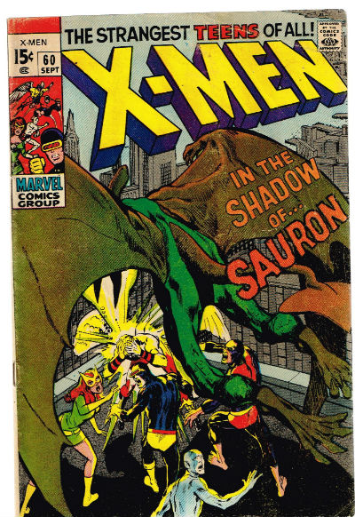 Image for UNCANNY X-MEN #60 VG+   1963-2011 |  VOLUME 1 |  MARVEL