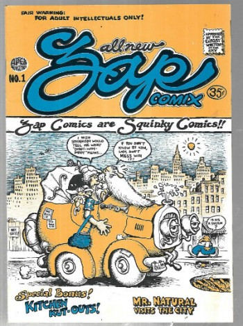 Image for Zap Comix #1