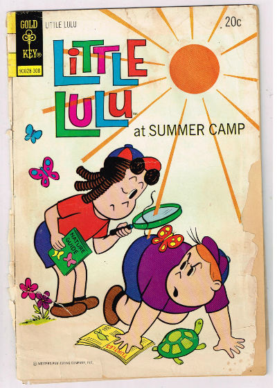 Image for LITTLE LULU (GOLD KEY/WHITMAN) #213   1873 |  VOLUME 1 |  WESTERN (GOLD KEY/WHITMAN)
