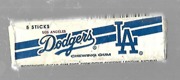 Image for Los Angeles Dodgers chewing gum