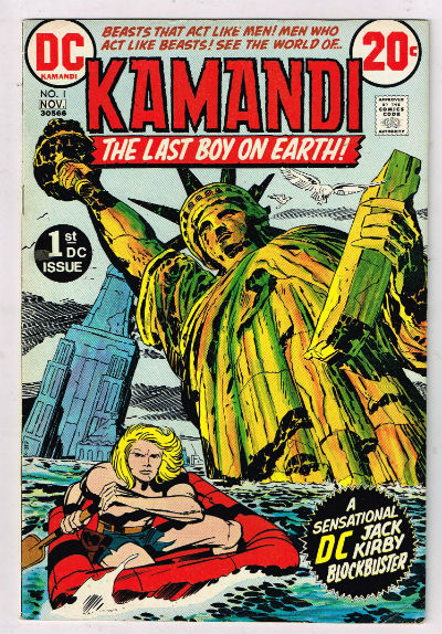 "Image for Jack Kirby's ""Kamandi""#1"