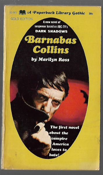 Image for DARK SHADOWS #6: Barnabas Collins by Marilyn Ross first printing 1968