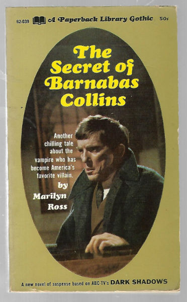 Image for The Dark Shadows The Secret of Barnabas Collins Quentin pb book photo cvr 1969