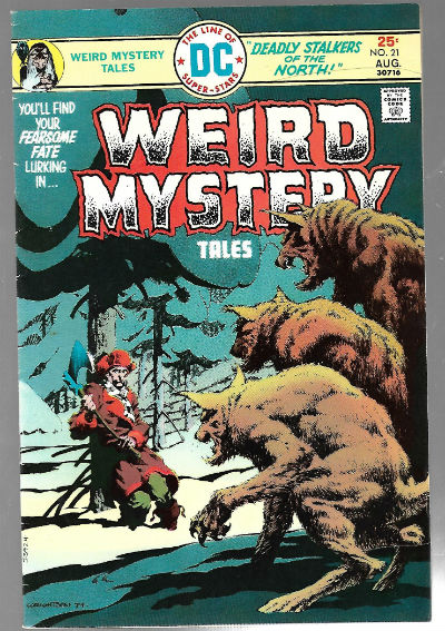 Image for WEIRD MYSTERY TALES #21