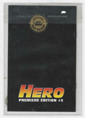 Image for Q-Unit  Gold foil Hero Premiere edition Ashcan #5 