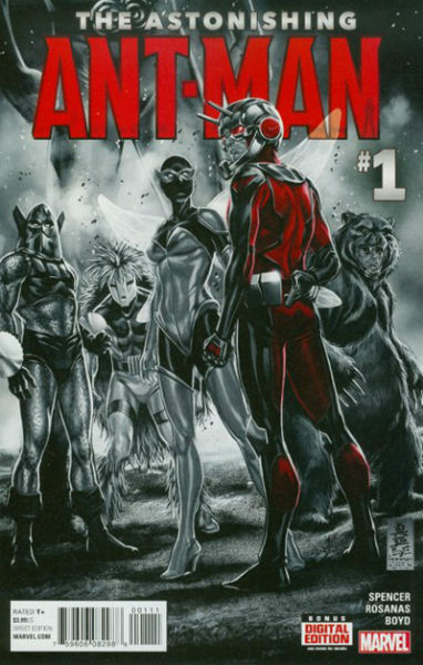 Image for ASTONISHING ANT-MAN, THE #1
