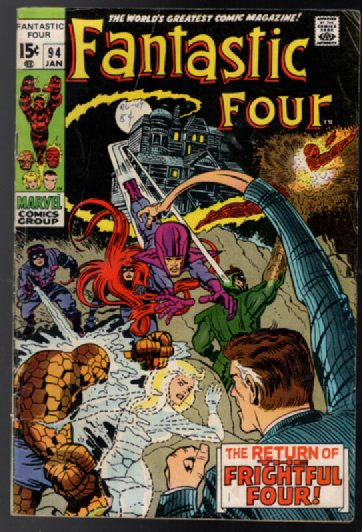 Image for Fantastic Four #94