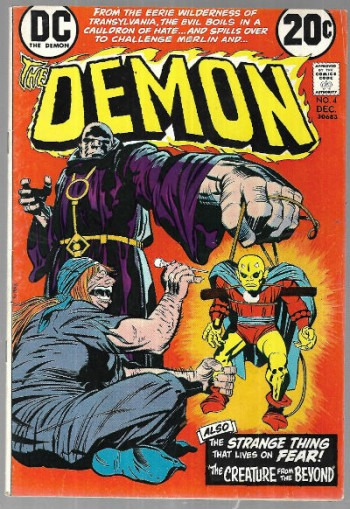 Image for The Demon #4   1972